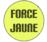 Logo of organization Force Jaune