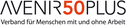 Logo of organization Avenir50plus Schweiz
