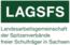 Logo organizacji Landesarbeitsgemeinschaft der Spitzenverbände freier Schulträger in Sachsen (LAGSFS)